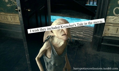 I wish they included Kreacher's Tale in the movie