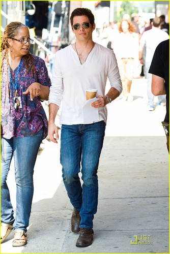 James Marsden: 'Bachelorette' in the Big Apple