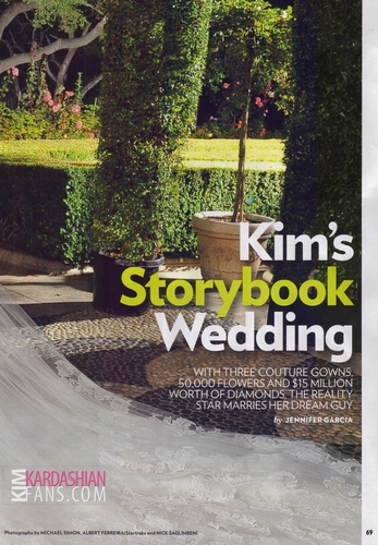 Kim Kardashian PEOPLE Magazine Wedding Edition [HQ Scans]