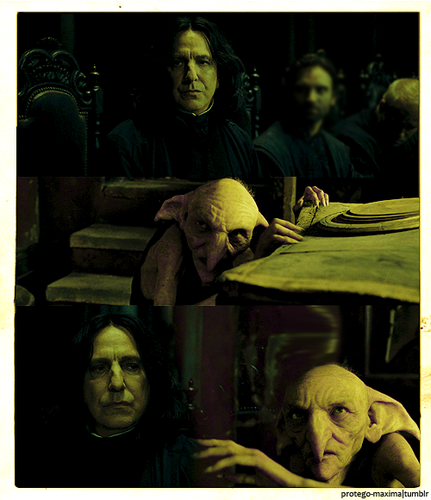Kreacher and Snape