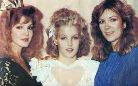 Lisa,Priscilla and aunt (before she married Danny)