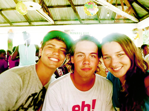 Luke,Munro,and Annie