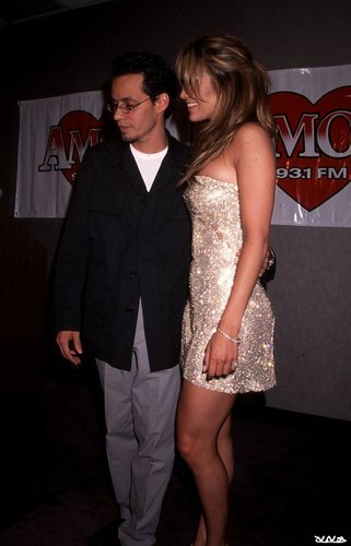 Marc Anthony, Jennifer Lopez - Amor 93.1 Press Conference 1999