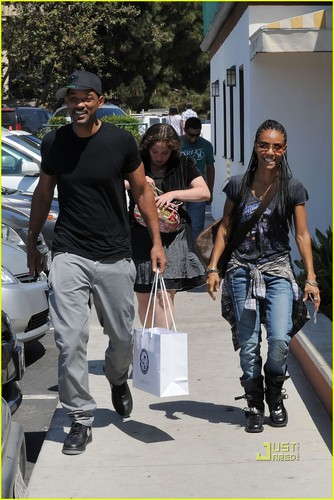 Will Smith & Jada Pinkett Smith: First Pics After 分裂, 拆分 报道