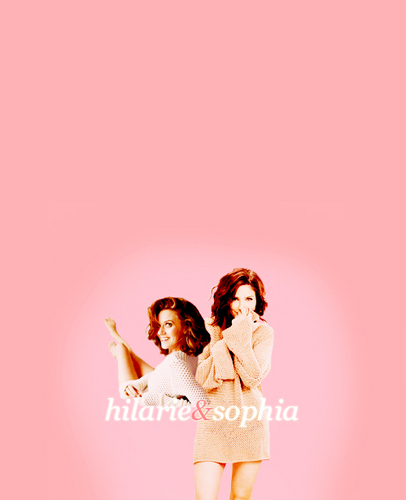Hilarie and Sophia ♥