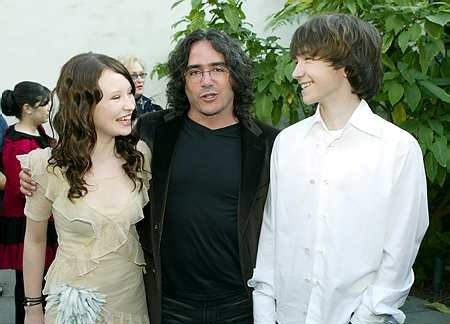 Liam Aiken, Emily Browning, and Brad Silberling