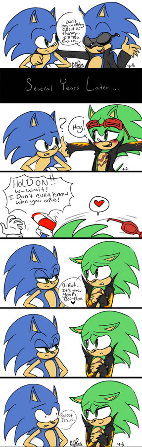 sonic don't know ho's scourge