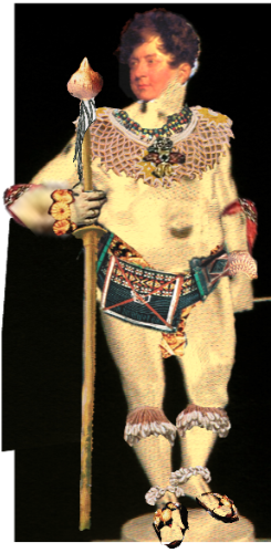 Freedom Fighter George IV (from the tribes of Sierra Leone)