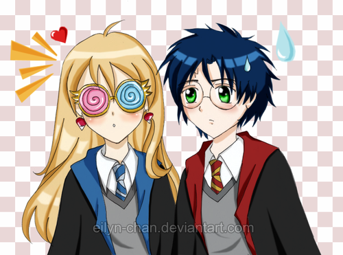 Harry and Luna <3