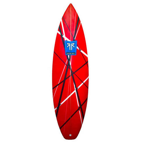 фургон, ван Halen Inspired Surfboard by http://www.RazorReef.com