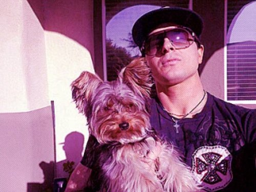 Zak and his puppy