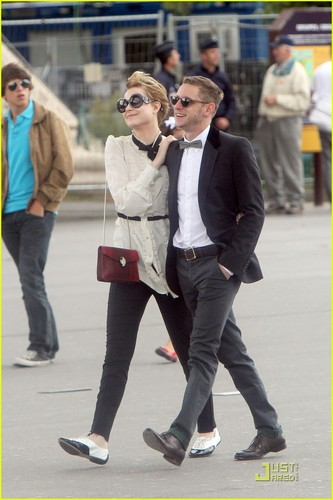 Evan Rachel Wood & Jamie Bell: Parisian Pair
