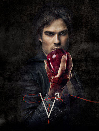 Ian as Damon Salvatore