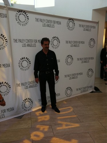 Joe Mantegna hits the Paley Fest red carpet