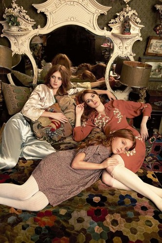 Karen Gillan ES Magazine photoshoot 9/9/11