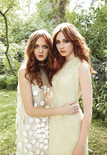 Karen Gillan ES Magazine photoshoot 9.9.11