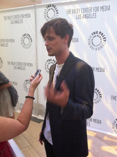 MGG making his way down the red carpet