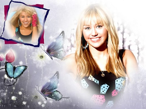 Miley/Hannah wallpapaers द्वारा dj ...........