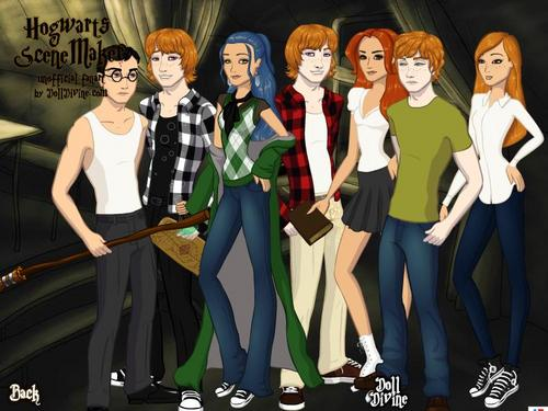 The New Weasley Family