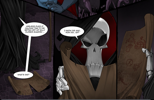 plans for horrers hand