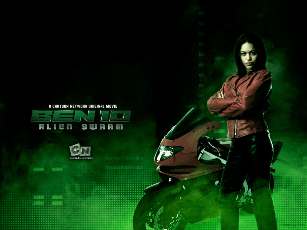 Alyssa Diaz Hot alyssa diaz in alien swarm as elena - ben 10: alien force