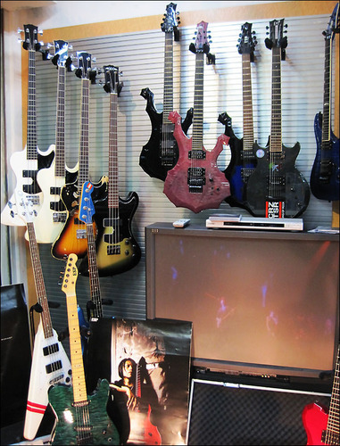 Dir en grey ESP Guitars Collection