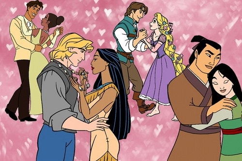 Disney Princess Couples 3