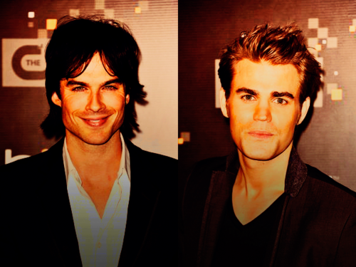 Ian & Paul - The CW premiere party