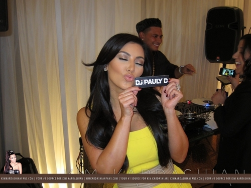Kim Kardashian & DJ Pauly D Fashion Night Out At Dash - 9/8/11