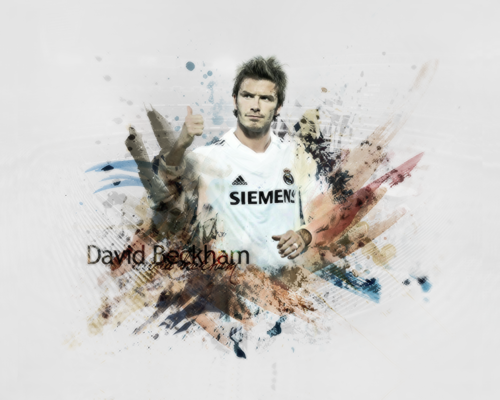 Real Madrid David Beckham
