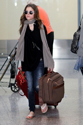 September 10 - Anna @ LAX airport