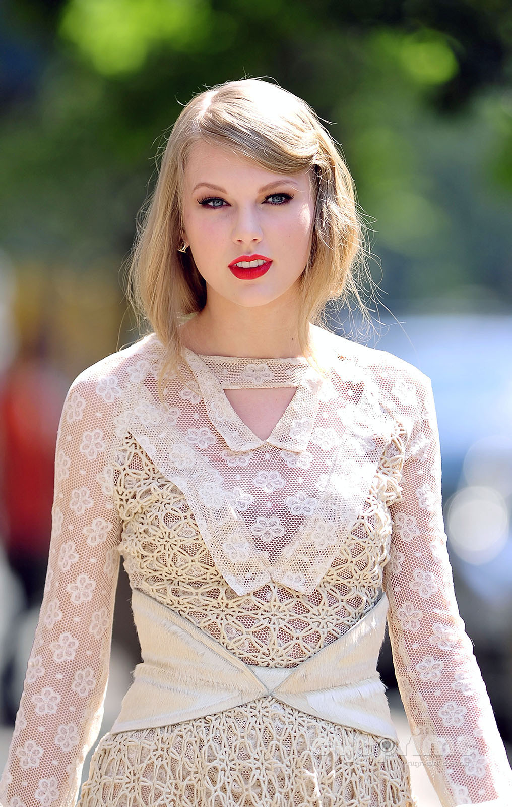 Taylor Swift is spotted on her way to the Rodarte Fashion Show, Sep 13
