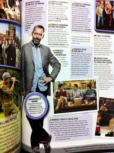 'House MD' in the guinness Book Of World Records