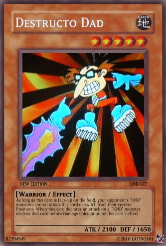 KND Yu-Gi-Oh Cards
