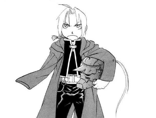 Manga Ed - Fullmetal Alchemist Manga Image (25331353) - Fanpop
