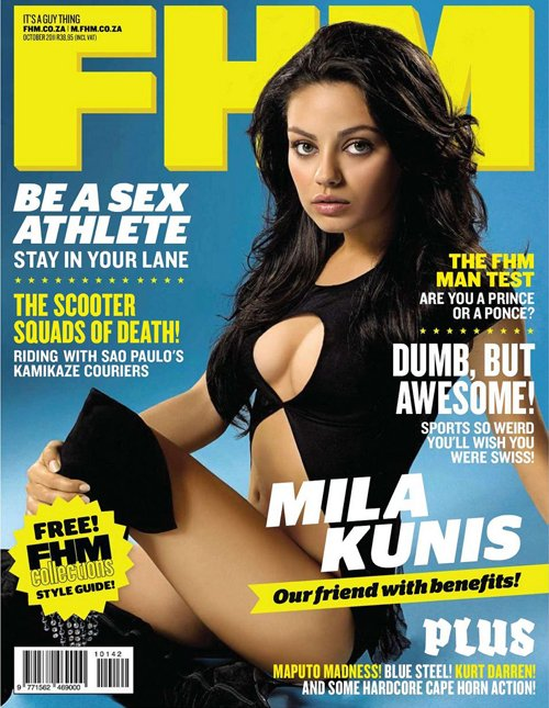 Mila for FHM South Africa