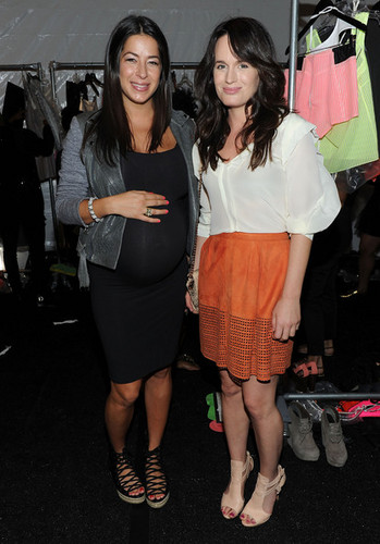 Rebecca Minkoff Front Row Spring 2012 Mercedes-Benz Fashion Week