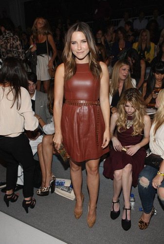 Sophia - Tibi - Front Row & Backstage - Spring 2012 Mercedes-Benz Fashion Week - September 13, 2011