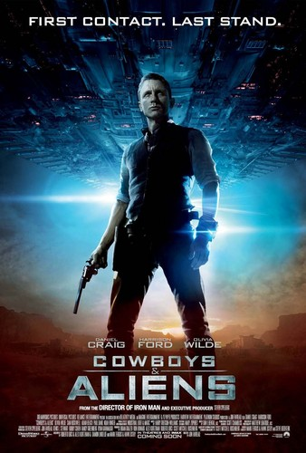 'Cowboys & Aliens' Poster ~ Daniel Craig as Jake Lonergan