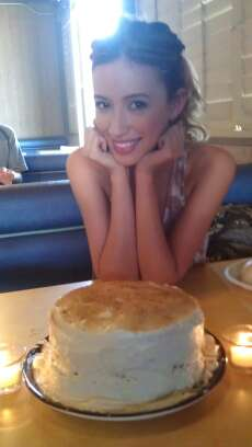 Christian Serratos celebrates her B-Day