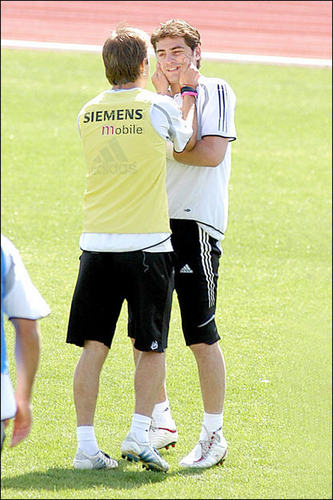 David and Iker Casillas