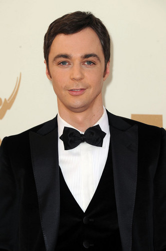 Jim Parsons Arriving @ the 2011 Emmy Awards