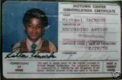 MJ ID-card