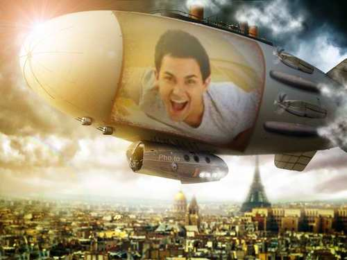 carlos-airship over paris