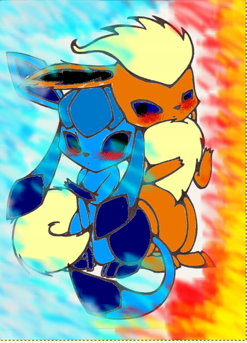 flareon and glaceon!