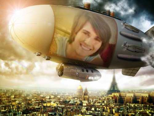 james-airship over paris