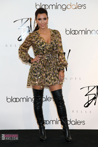 Bloomingdale's 59th St. Celebrates Kim Kardashian's Belle Noel Jewelry Collection