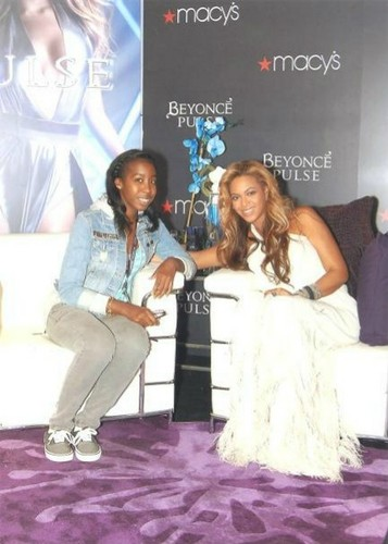 Beyoncé Hosts Pulse Fragrance Launch Event at Macy's