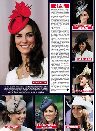 Catherine's hats