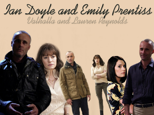 Emily Prentiss and Ian Doyle